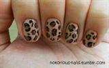 Nude Leopard Print
