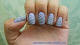 Purple & Gray Stripes
