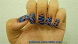 Pink & Blue Zig Zag Poptarts