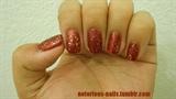 Matte Ruby Glitter