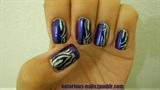 Colorblock Zebra Stripes