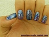 Blue & Purple Gradient Tips