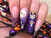 Spooky cute Halloween Nails By Jana