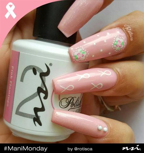 Mani Monday Pink