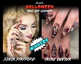 Halloween Nail Art Winners