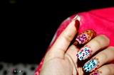 leo nail art