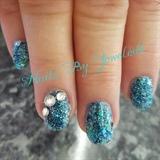 Aqua sparkle splah