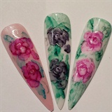 sharpie roses