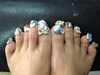 All Bling toes
