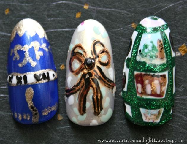 Faberge Egg Art Nails 2