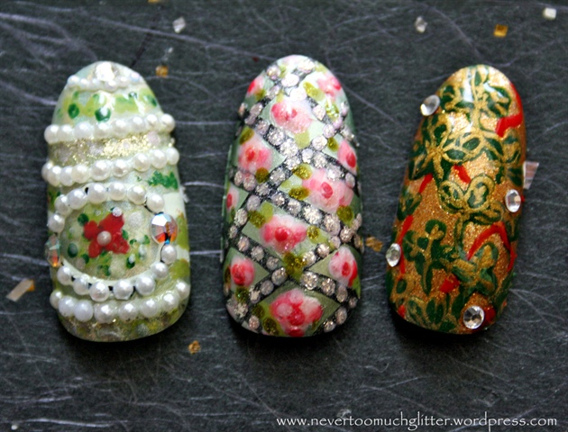 Faberge Egg Art Nails 3