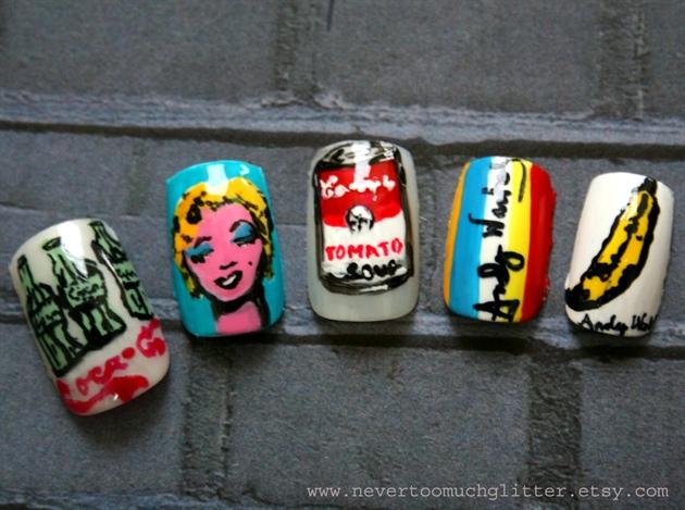 Andy Warhol Pop Art Nails 2