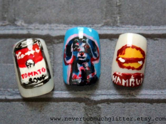 Andy Warhol Pop Art Nails 4