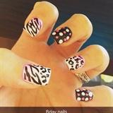 Birthday nails (09.19.2015)