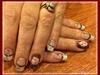 OU Football Nails