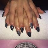 Nail Black Gel