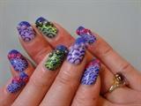 crazy nail art