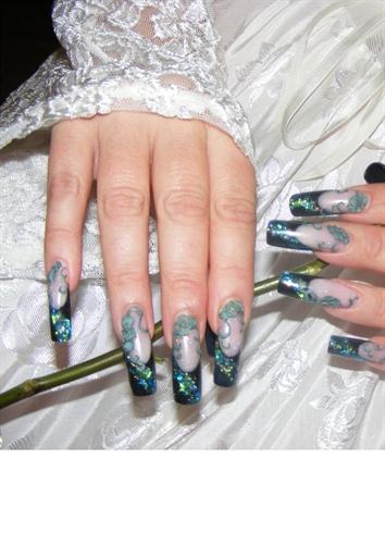 funky goth bride