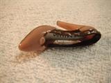 Acrylic miniaturt shoe