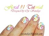 Floral Nail Art Tutorial #1