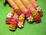 floral neon
