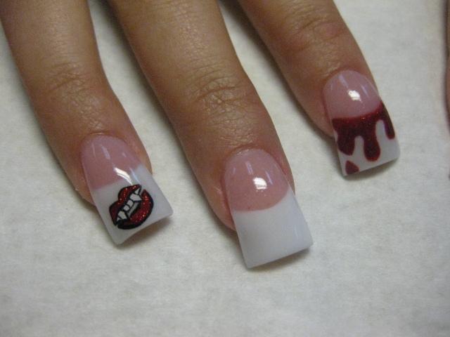 Vampire teeth nail art images vampire teeth nail art prinsesfo Choice Image