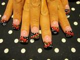 leopard polka dots and bows