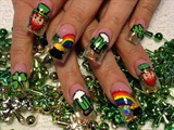 st paddys nails 1