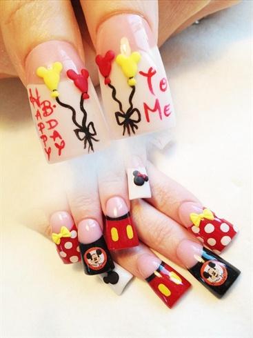 Minnie and Mickey Bday