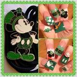 St Patty's day Minnie and Mickey