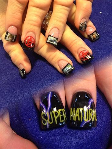 Supernatural Nails Nail Art Gallery