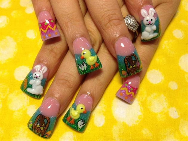 3-d Easter