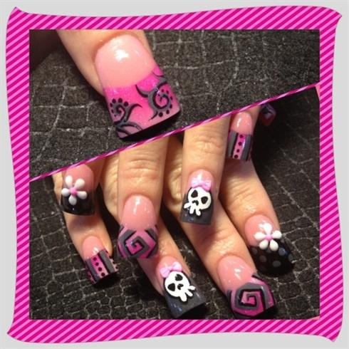 Pinks skulls  mix