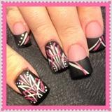 Pinstriped nails 2