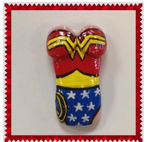 Wonder Woman Nail Art: Nail Art Gallery