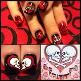Valentine skulls