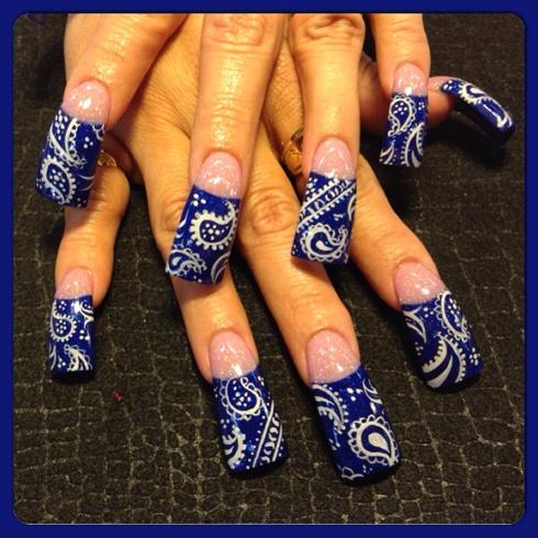 bandanas  nail art gallery