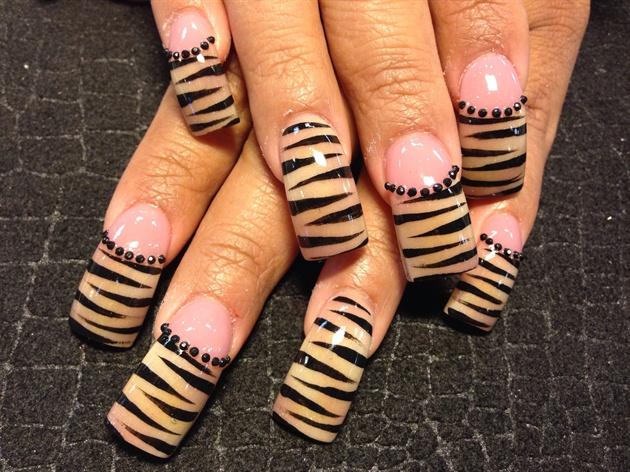 Tan zebra