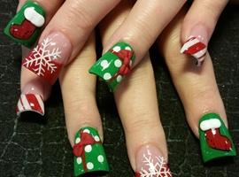 nail art: Xmas mix
