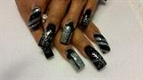 black and silver xmas