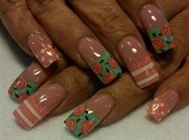 nail art: spring time