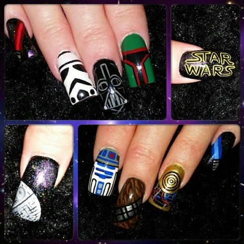 Star Wars Nails Nail Art Gallery