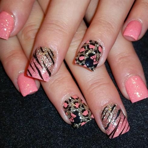 lil Minnie leopard and zebra