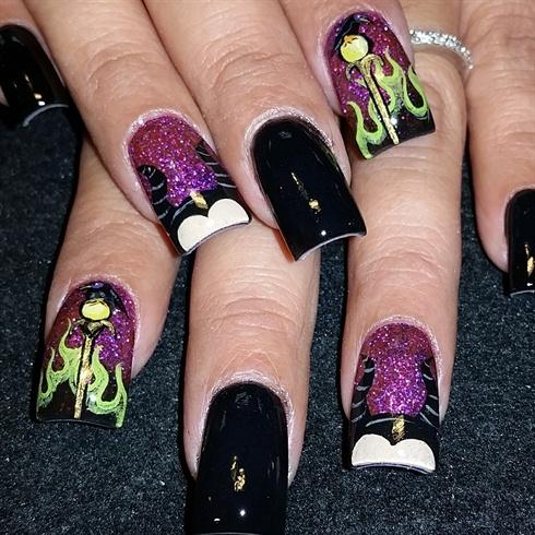 malificent  nail art gallery