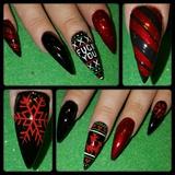 bad xmas nails