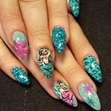 miss fluff mermaid nails