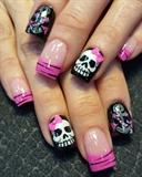 skulls and anchors