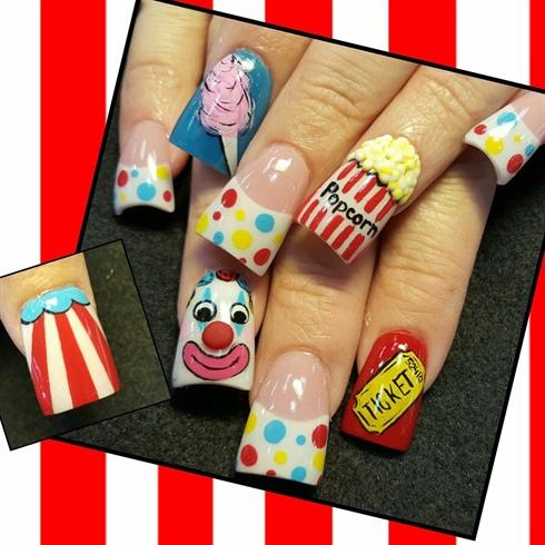 Carnival nails
