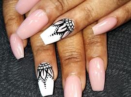 nail art: Mandala