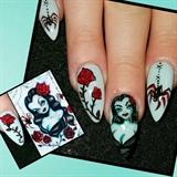 Miss Fluff inspired Vampira